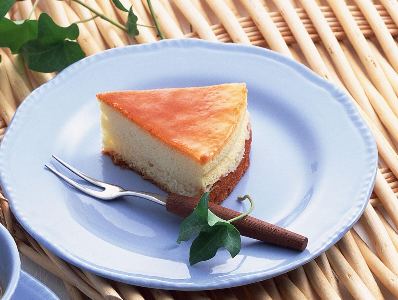 【土佐茶に合うデザート】チーズケーキ